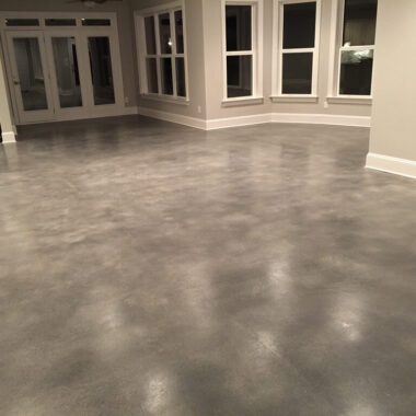 Sealed Concrete Floor Colorado