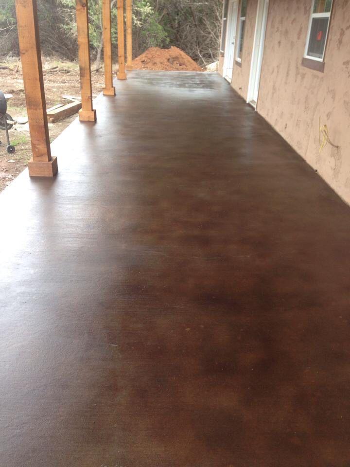 concrete stain colorado springs