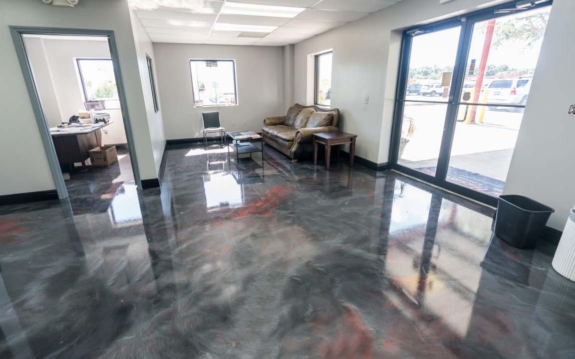 epoxy garage floor denver