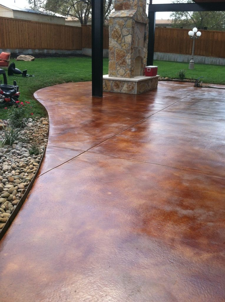 stained concrete colorado springs